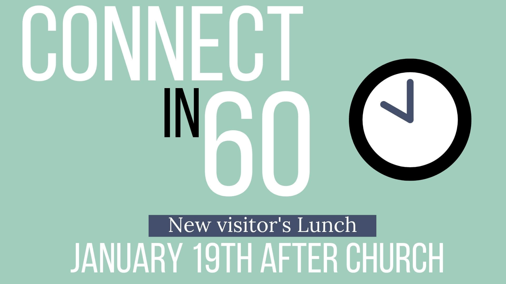 Connect In 60 Jan 19
