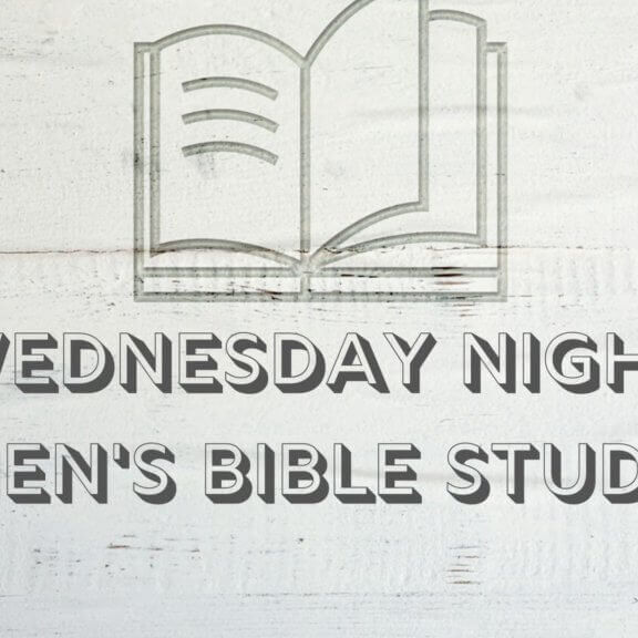 Wednesday Night Men's Bible Study